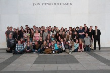 At the Kennedy Center after the concert